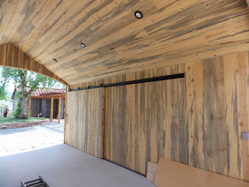 Paneling Option Blue Pine