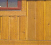 Cedar Channel Wood Siding