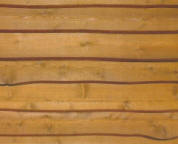 Cedar Wavy Edge Wood Siding