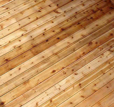 Western Red Cedar Decking Boards