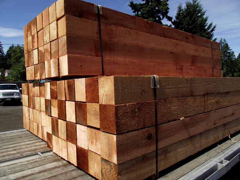 Western Red Cedar Timber Beams